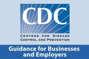 CDC Guidance for Businesses and Employers